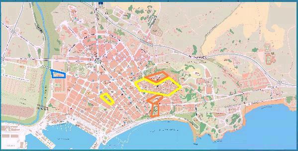 Cartina Spagna Tarragona.Mappe Relative A Tarragona