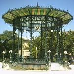 La cassa armonica nella Villa Comunale di Napoli
