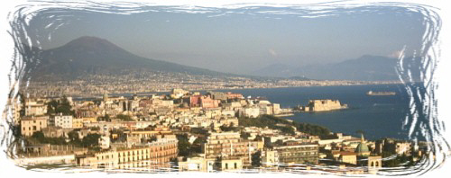 Panorama di Napoli da via Tasso (foto: Daniele Pizzo - 2003)